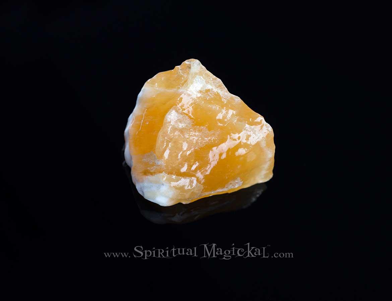 Orange Calcite Crystals